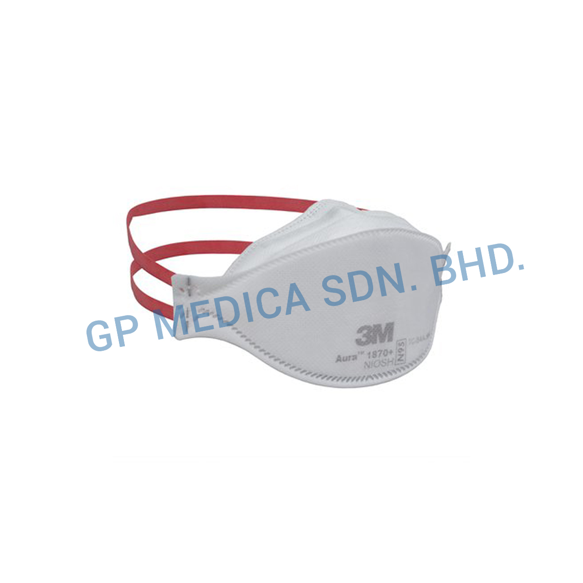 3M Aura Health Care Particulate Respirator and Surgical Mask 1870+, N95-2