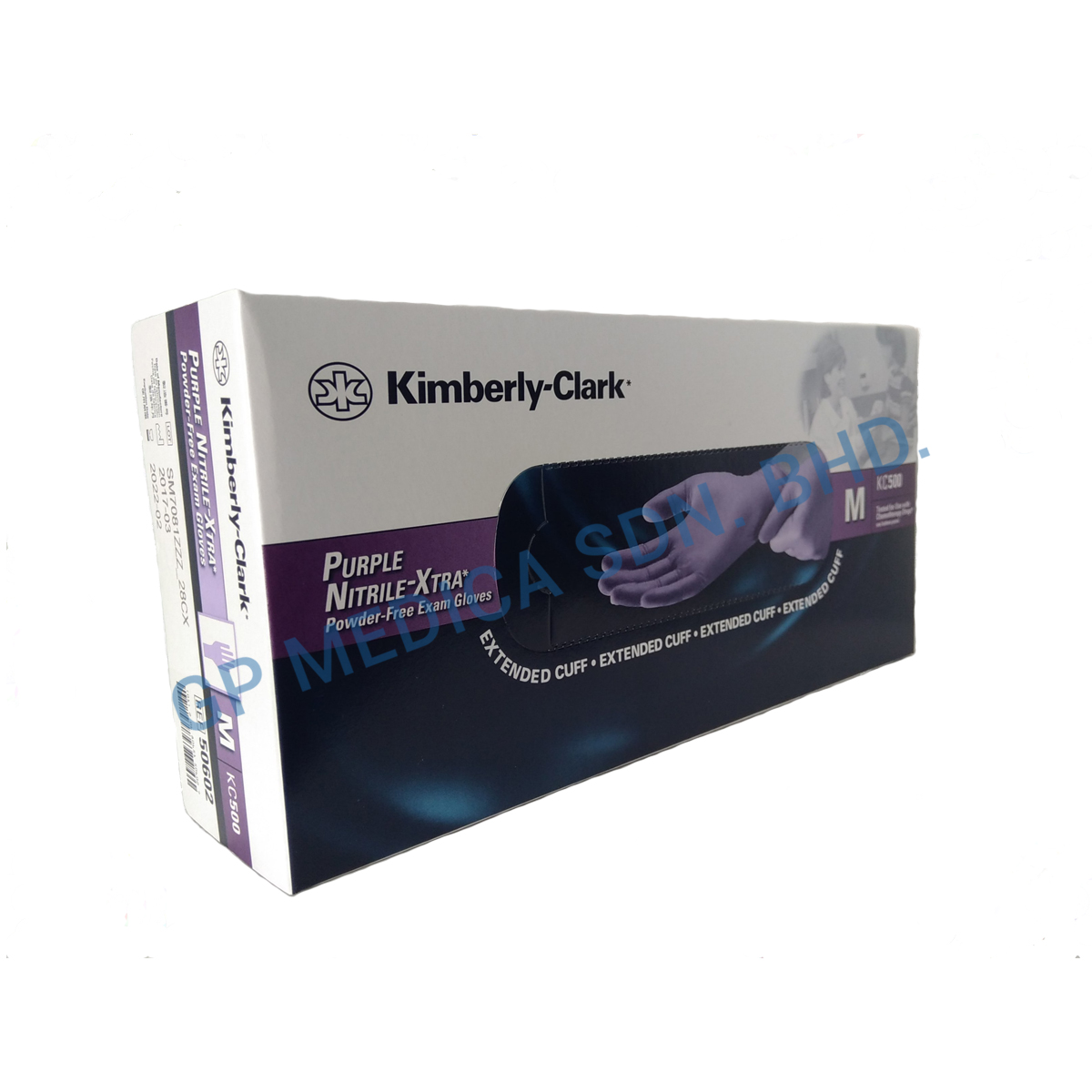 Kimberly Clark Purple Nitrile-1