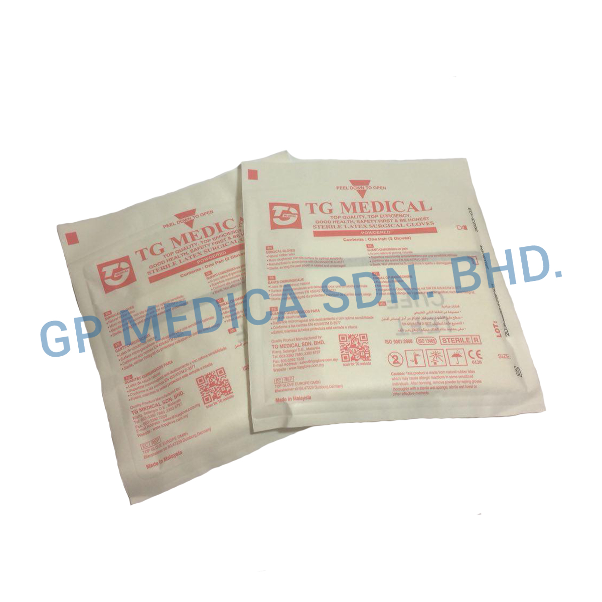 Latex Surgical Glove Powdered-2