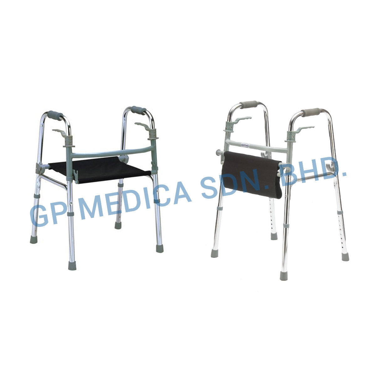 Walking Frame With Canvas Seat