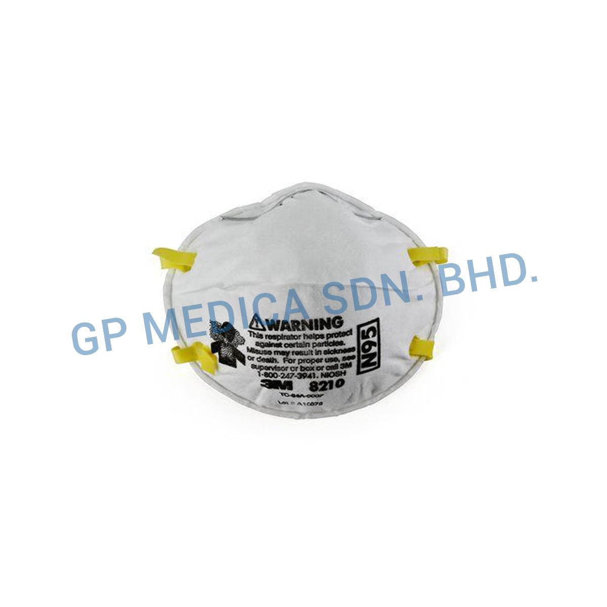 3M Particulate Respirator 8210, N95-1
