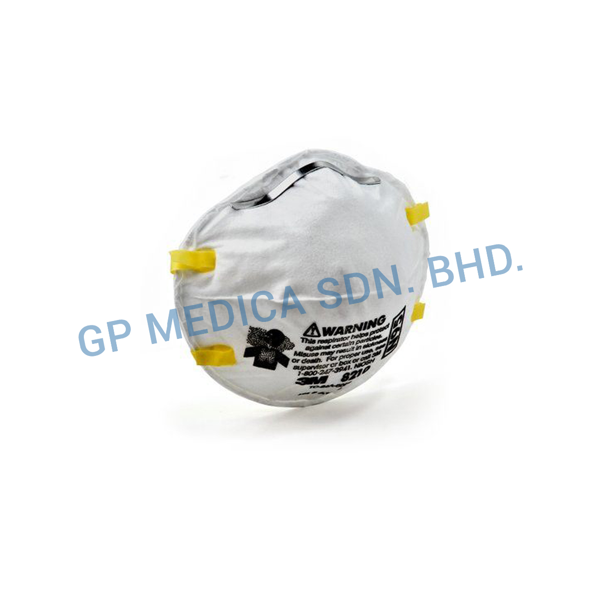 3M Particulate Respirator 8210, N95-2
